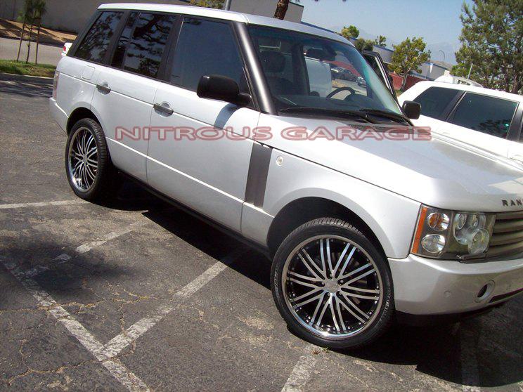 22 Range Land Rover Sport LR3 LR4 BMW x5 Vossen asanti I HRE Forged Wheels 24