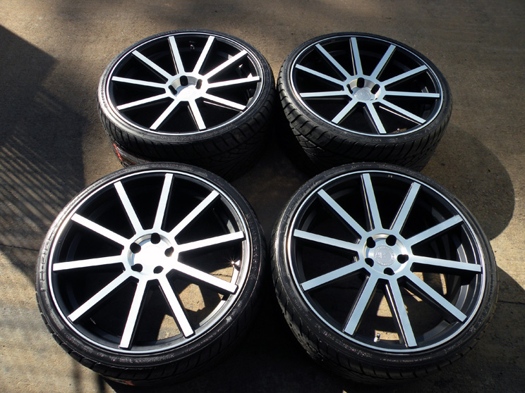 "22"" Road Force RF10 Wheels Maserati Quattroporte GT s Tires Granturismo Sport"
