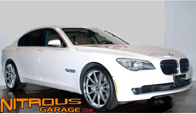 "22"" Koko Kuture Lindos Wheels Silver BMW 7 Series 740 750 760 B7 Concave Lip"