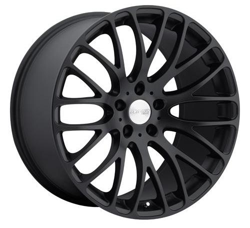 Wheels Black BMW M3 E90 E92 E93 08 Mesh Multi Spoke Staggered Rims