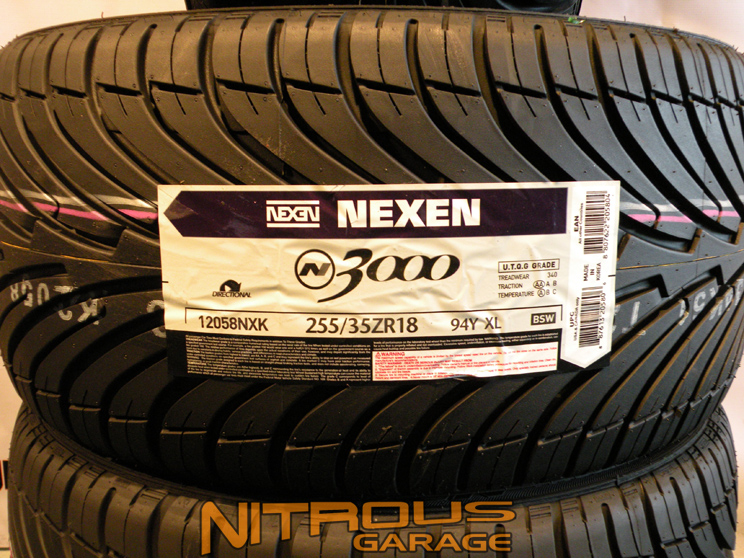 nexen n3000 tires set 235 40 18 255 35 18 bmw 3 series 325. Black Bedroom Furniture Sets. Home Design Ideas