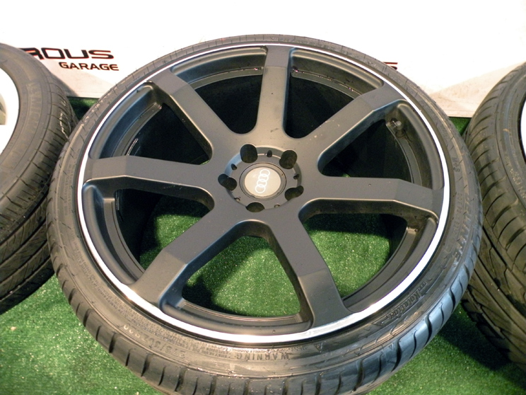 """20"""" Giovanna Andros Wheels Audi A5 S5 Tires Package Black"""