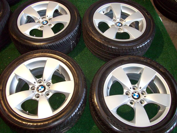 17 BMW Wheels Tires 525i 528i 530i 535i 545i 550i 533 633 L6 733