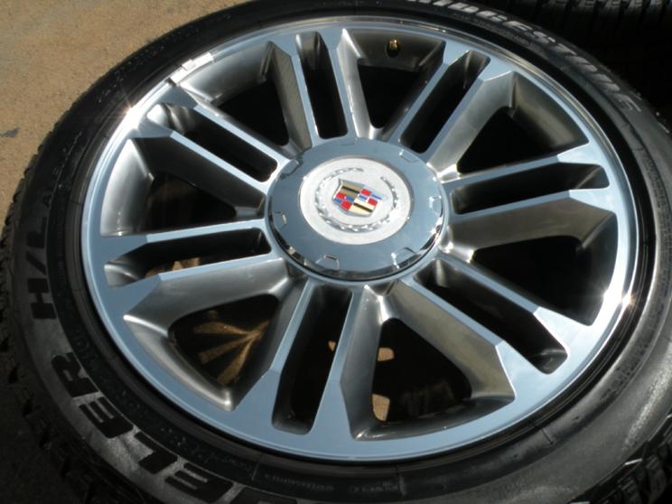 22 inch cadillac escalade oem factory style chrome wheels html autos weblog. Black Bedroom Furniture Sets. Home Design Ideas