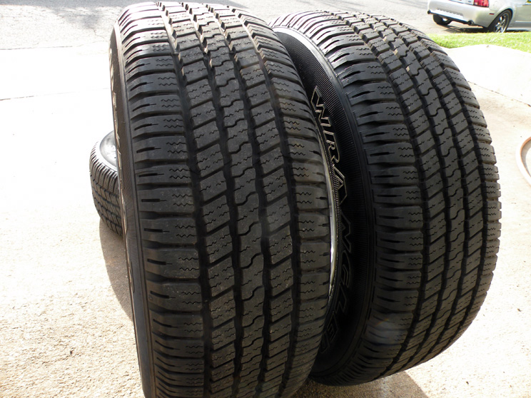 """20"""" Factory Dodge RAM Wheels 1500 Goodyear Tires 2013 2014 Polished"""