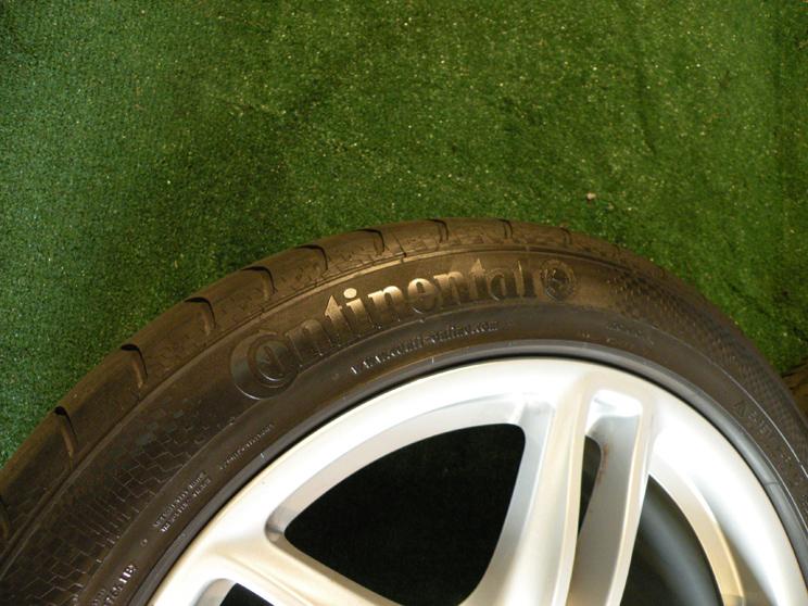 "19"" Factory Porsche Panamera Wheels GT GTS 4 s Turbo Tires Continental"
