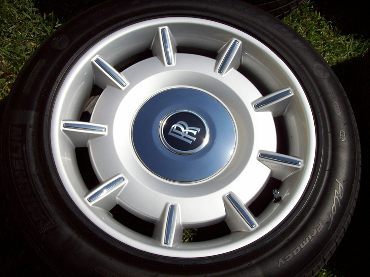 Rolls Royce Pax Wheels Phantom Drophead Michelin Tires 265