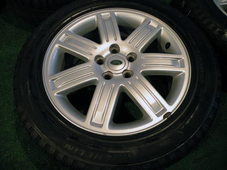 """19"""" Range Rover Land HSE Factory P38 Discovery II Disco Wheels Tires Silver"""